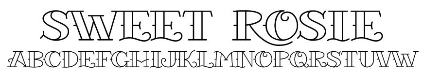 Sweet Rosie Font